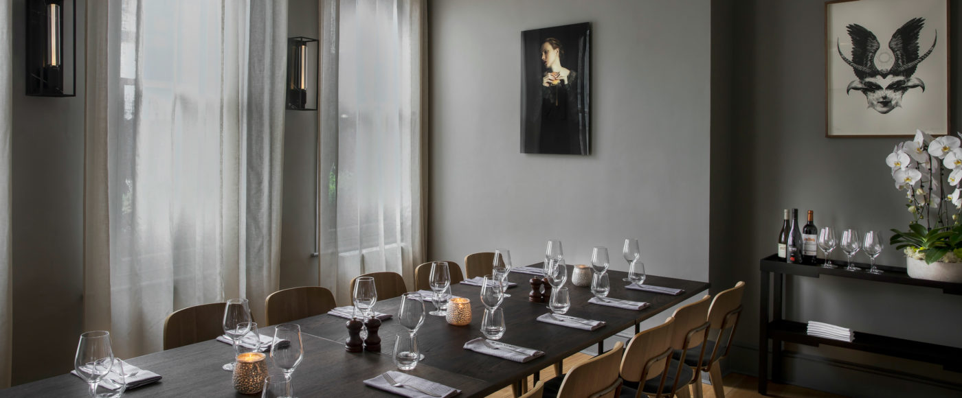 Arthur Hoopers Private Dining Room